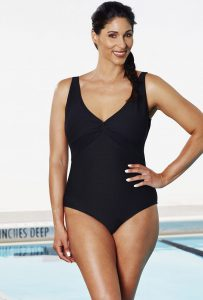 Chlorine resistant swimsuits for women