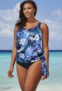 Blouson Tankini Swimsuits
