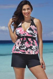 Halter Tankini Swimsuits