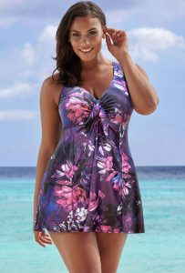 Skirted One Piece Swimsuits
