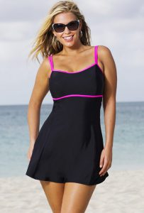 Swimdress With Tummy Control
