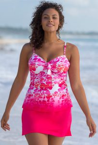 Tankini with skirt