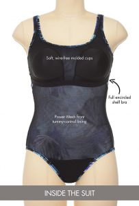 Tummy Control One Piece Swimsuits