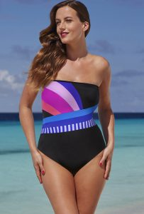 Bandeau One Piece Swimsuits