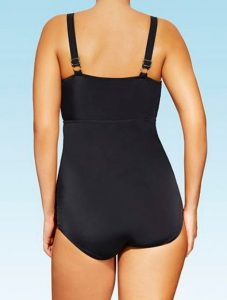 Plunging One Piece Swimsuits