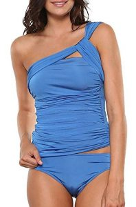 Ruched Tankini