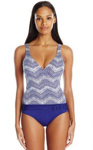 Faux Tankini Bathing Suits