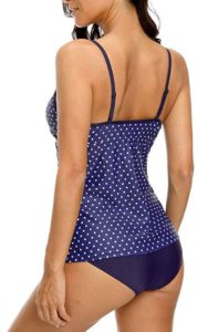 V Neck Tankini Tops