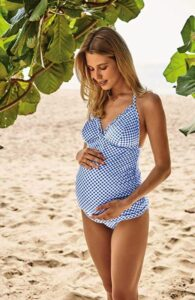 maternity swimsuit tankini