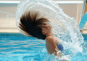 Remove Chlorine From Bathing Suits, Hair and Skin